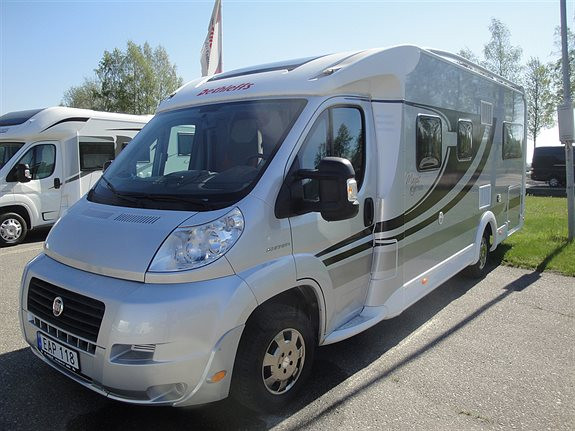 Dethleffs Magic edition Silver T 1 EB Husbil-halvintegrerad, 495000 kr, 3600 mil
