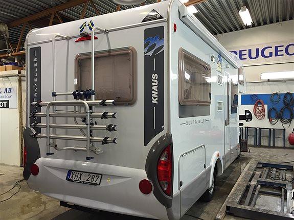 Knaus SunTraveller 650 MF Husbil-alkov, 349500 kr, 8800 mil